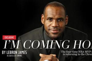 熱門新聞排行榜 詹姆斯重回克利夫蘭