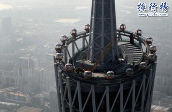 世界上最高的摩天輪,廣州塔摩天輪凌空450米(縱覽廣州全景)