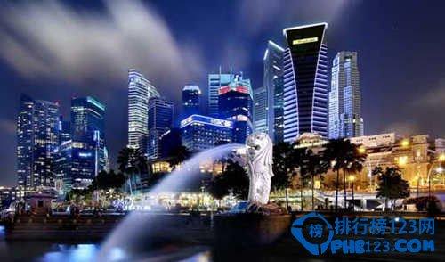2020世界最宜居的十大城市TOP7:新加坡