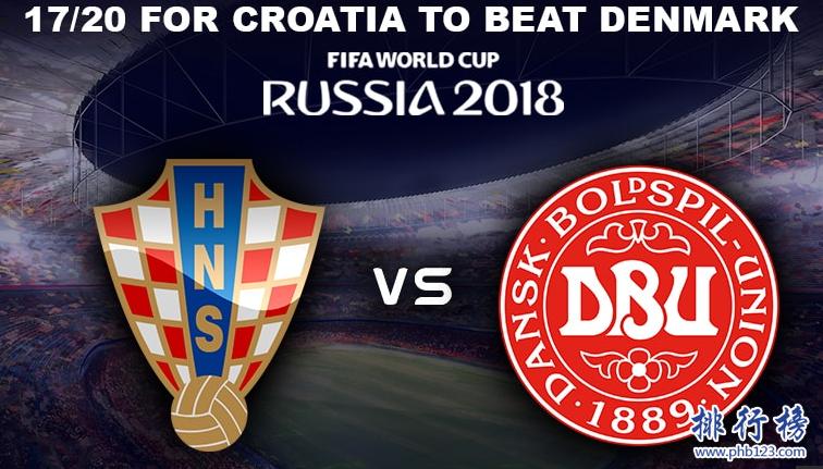 克羅埃西亞vs丹麥歷史戰績,克羅埃西亞vs丹麥比分記錄一覽表