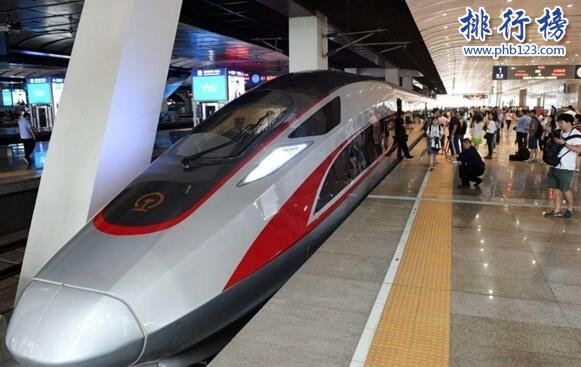 世界高鐵速度排名2019,中國高鐵技術世界第一(包攬1、2)