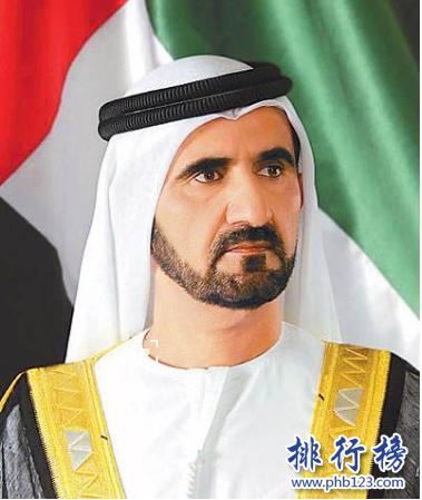 杜拜十大首富排行榜:第一總資產達220億