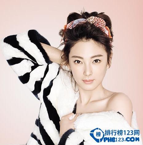 中國最性感的女明星排行榜 中國大骨架性感女星有哪些
