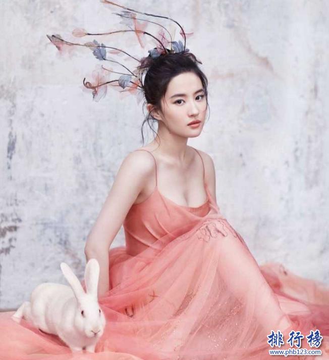 亞洲20位最美女神榜