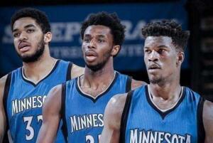 2019-2019賽季NBA森林狼球員名單,2019森林狼首發陣容(完整版)