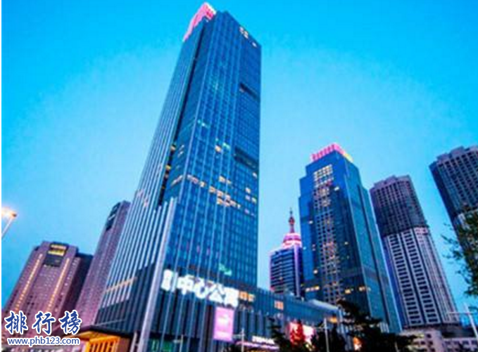青島第一高樓多少米?青島十大高樓排名2019