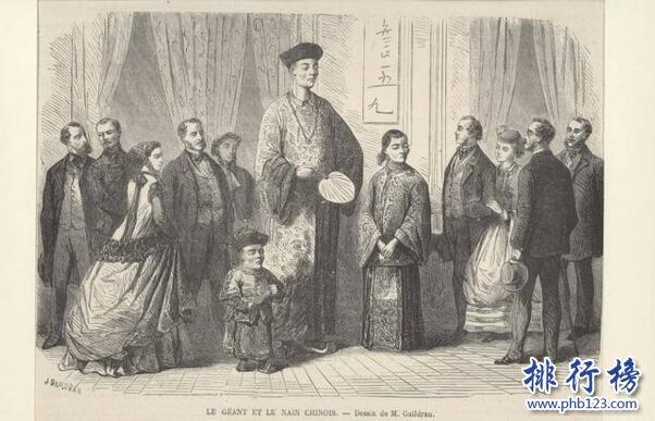 中國最高的人是誰,清朝詹世釵身高3.19米(比籃球球筐還高)