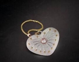 世界上最貴的包包,一千零一夜鑽石包鑲有4517顆鑽石(380萬美元)