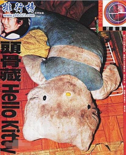香港十大奇案之一:HelloKitty藏屍案,肢解頭顱裝入娃娃(圖片)