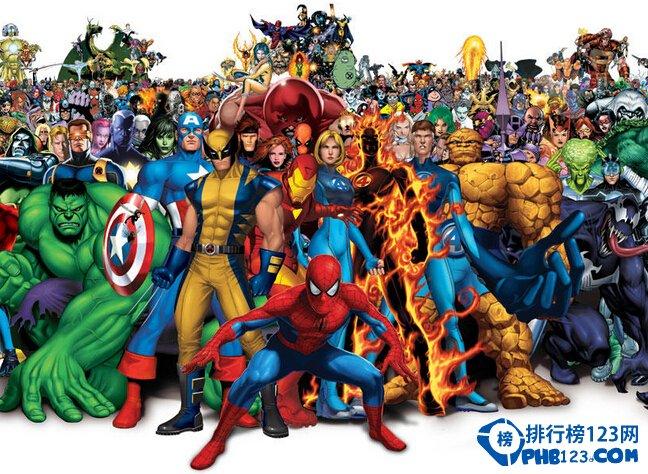 美國漫威超級英雄實力排名