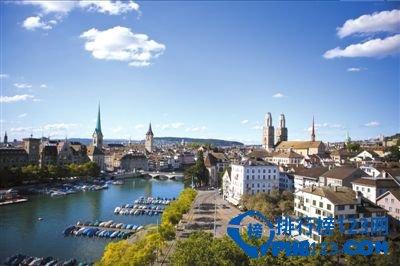 2020世界最宜居的十大城市TOP2:蘇黎世