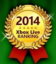 日本Xbox Live遊戲排行榜