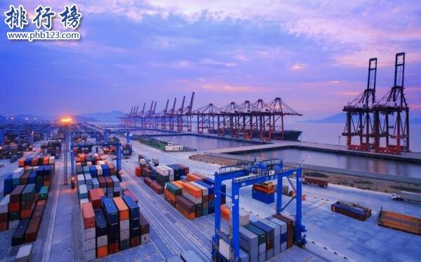 2021年一季度全球港口貨物吞吐量排行榜:寧波港居首,上海港第二