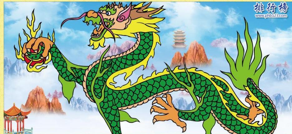 上古四大神獸:青龍、白虎、玄武、朱雀(附圖片)