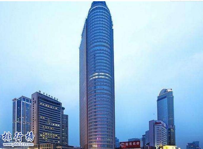 南京十大高樓排名2019 第一高樓580米你去過幾個