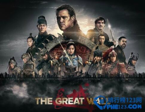 張藝謀《長城》電影票房預測,國內票房預計10億
