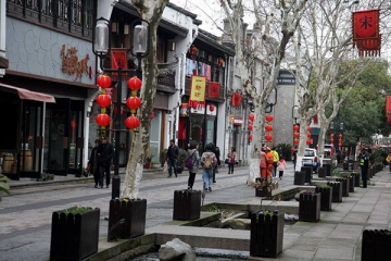 杭州十大美食街排行榜,杭州最出名的小吃街都在哪