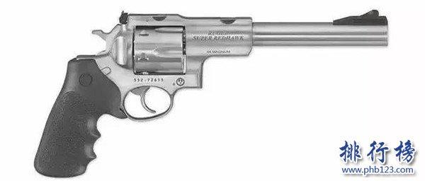 威力最大的手槍排名:PfeiferZeliska轉輪手槍,子彈比手榴彈還大