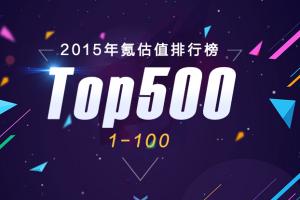 2015氪估值排行榜 網際網路創業公司估值排行榜