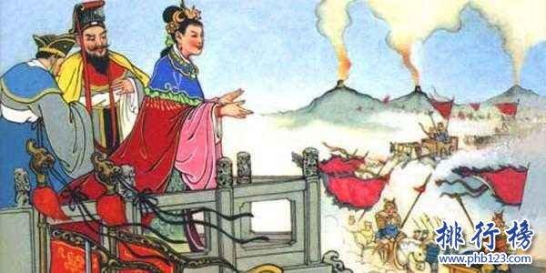 中國十大昏君排名:明朝最多,周幽王烽火戲諸侯