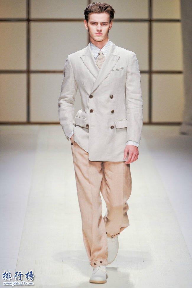 世界十大男裝品牌盤點 你知道幾個?