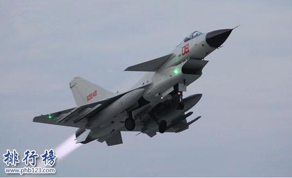 中國最新十大戰機排名2019 中國最先進的戰機情況