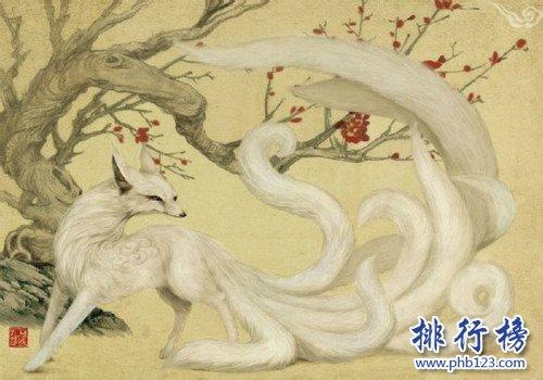 山海經中最好看的神獸,九尾狐不僅在內還代表祥瑞(排名不分先後)