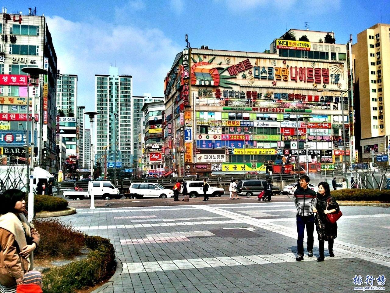 韓國十大城市排名:韓國最大的城市首爾釜山第二