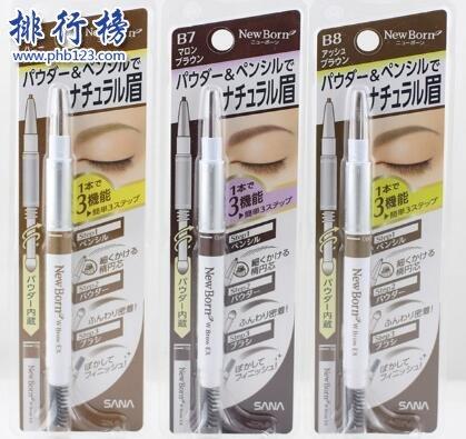 日本眉筆什麼牌子好用?2019年日本好用的眉筆排行榜前十強