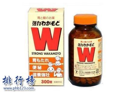 日本十大腸胃藥排行榜
