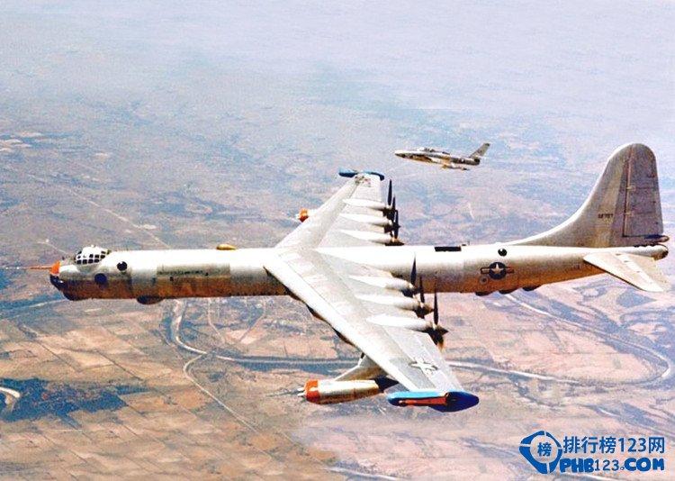 世界上最大的轟炸機b36轟炸機
