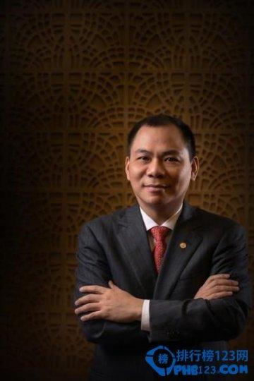 福布斯越南富豪排行榜2019