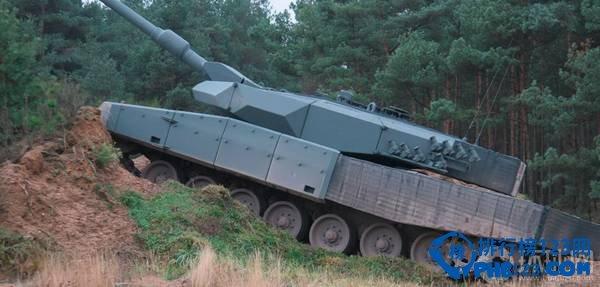 """""""豹""""2革命性改進坦克。"""