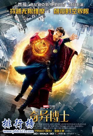 美國超能力電影排行榜