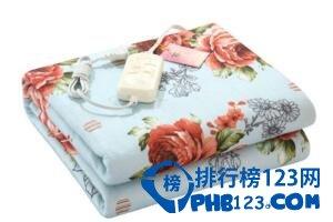 電熱毯品牌排行,彩虹電熱毯口碑最受歡迎